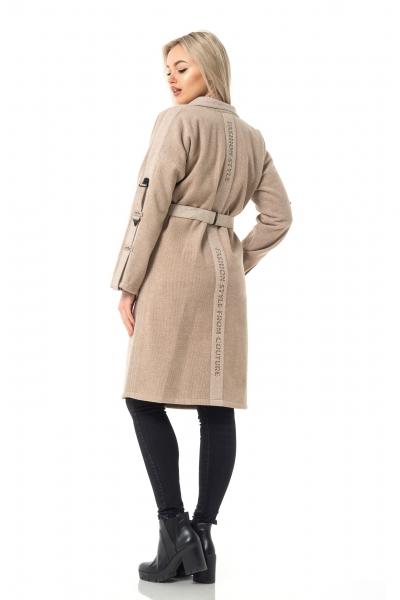 Женское пальто LUCKY цвет бежевый