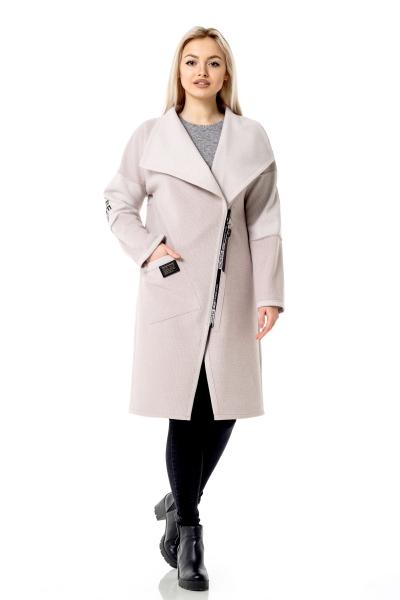 Женское пальто — кардиган MAIN'STREAM цвет пудра