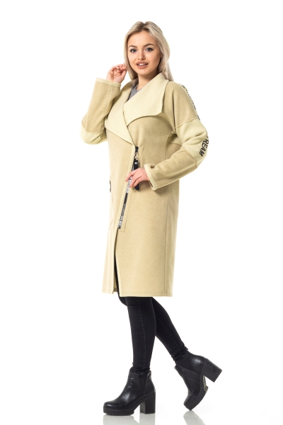 Женское пальто — кардиган MAIN'STREAM цвет сахара