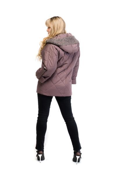 Куртка женская весенняя MILANA (цвет шоколад)