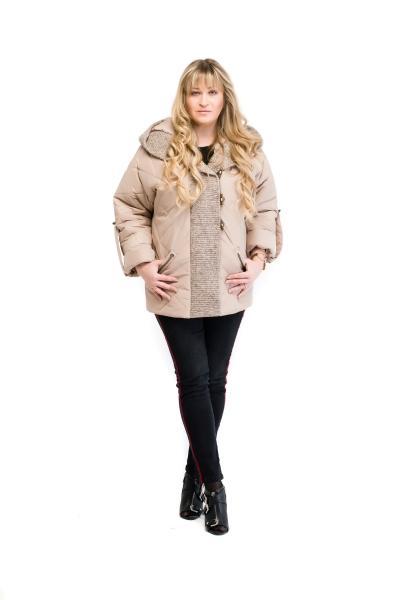 Куртка женская весенняя бежевая MILANA