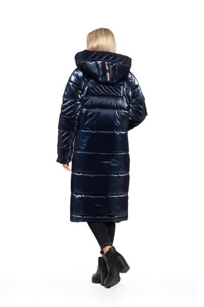 Пальто жіноче зимове DAKOTA OFF (колір синій)