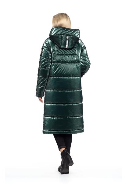 Пальто женское зимнее DAKOTA OFF (цвет изумрудный)