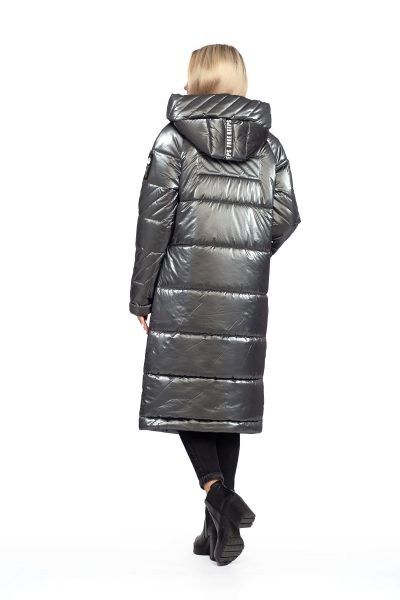 Пальто жіноче зимове DAKOTA OFF (колір графітовий)
