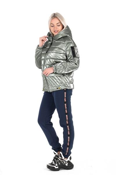 Куртка жіноча ELIZA ( колір сірий-металік )