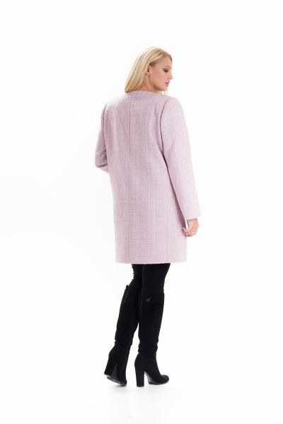Женский весенний плащ — кардиган SHARLOTA цвет розовый