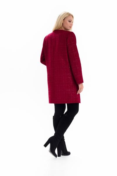 Жіночий весняний плащ - кардиган SHARLOTA колір марсаловий