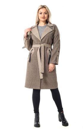Женское пальто LUCKY цвет capuchino