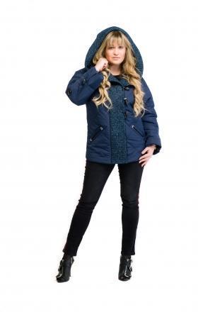 Куртка жіноча весняна MILANA (колір синій)