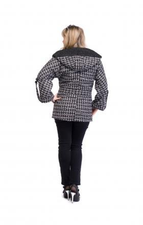 Пальто женское весеннее MILANA (цвет черный)
