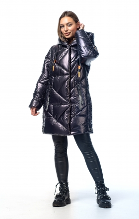 Women's winter jacket VOGUE (ink color)
