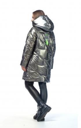 Куртка женская зимняя VOGUE (цвет стальной)