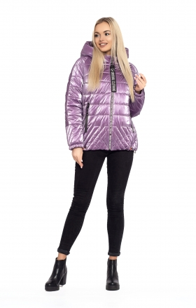 Women's jacket ELIZA (lilac color)