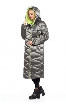 Пальто женское зимнее BLER (цвет серый)