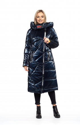 Women's winter coat DAKOTA OFF (blue)