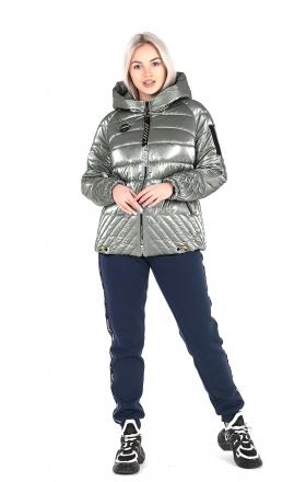 Куртка женская ELIZA ( gray-metallic color )