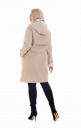 """Куртка вітровка жіноча """"ANITTA"""" (бежева)"""