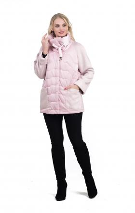 Куртка весенняя MARA ( розовый )