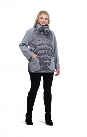 Куртка весняна MARA (колір сірий)