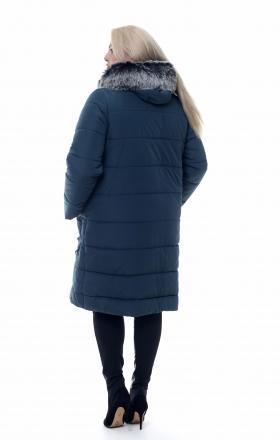 Пуховик женский удлиненный MINNESOTA (джинса)