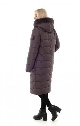 Пуховик женский зимний BETTY UPG (цвет шоколад)