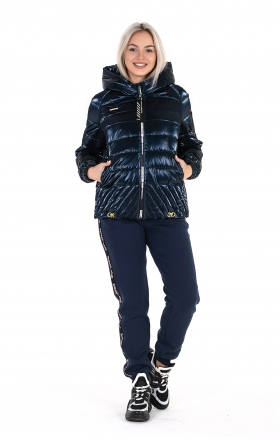 Women's jacket ELIZA (color dark blue)