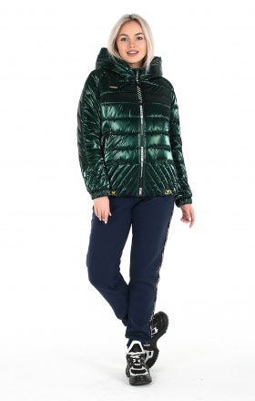 Women's jacket ELIZA (dark green)