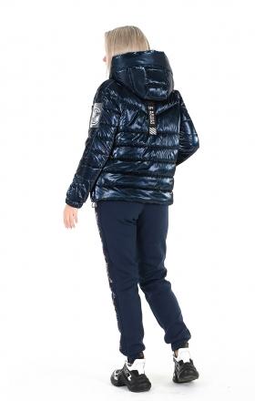 Куртка женская ELIZA (цвет тёмно-синий)