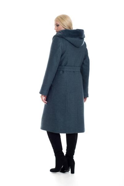 Пальто женское зимнее ARIANDA (цвет оливка)