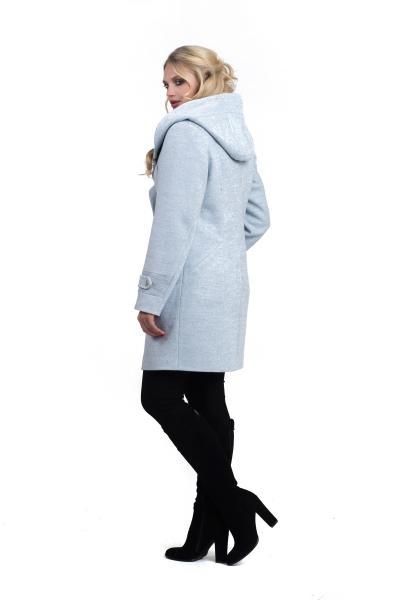 Пальто женское осень-весна «DELFI» (цвет голубой)