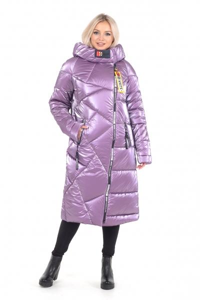 Пальто женское зимнее DAKOTA OFF (цвет сиреневый)