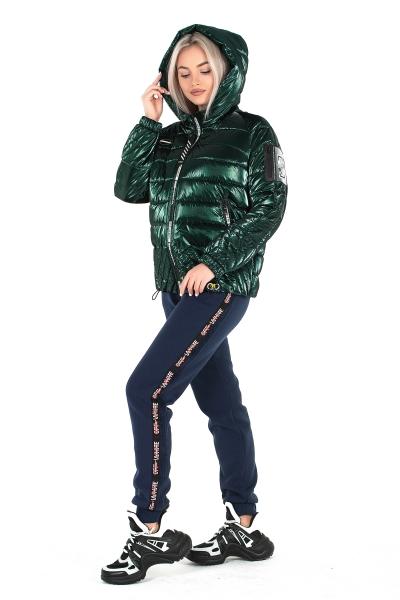 Куртка женская ELIZA ( цвет изумрудный )