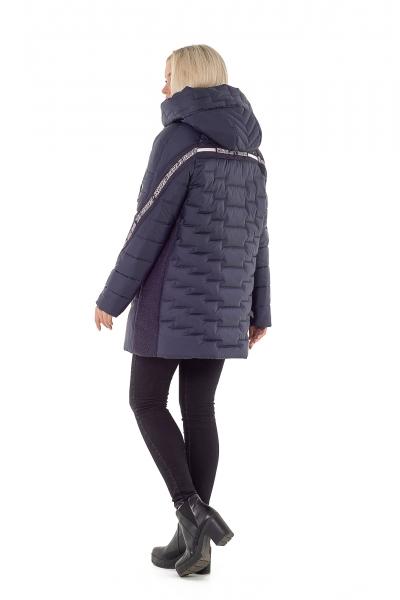 Куртка жіноча зимова YO00003 (колір синій)